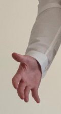 Thijs hand reaching out