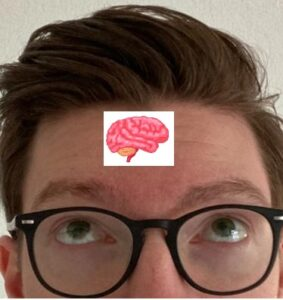 Thijs with brains